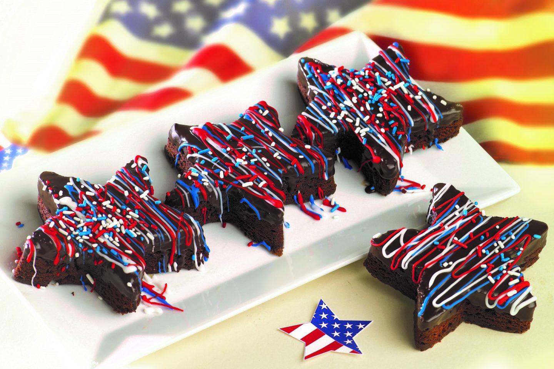 Brownies Estrellas Americanas