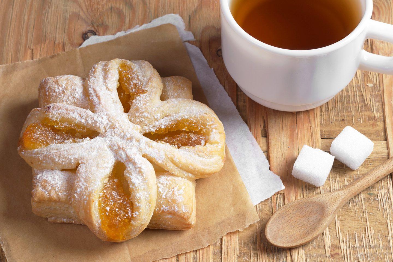 Pan Danés de Manzana