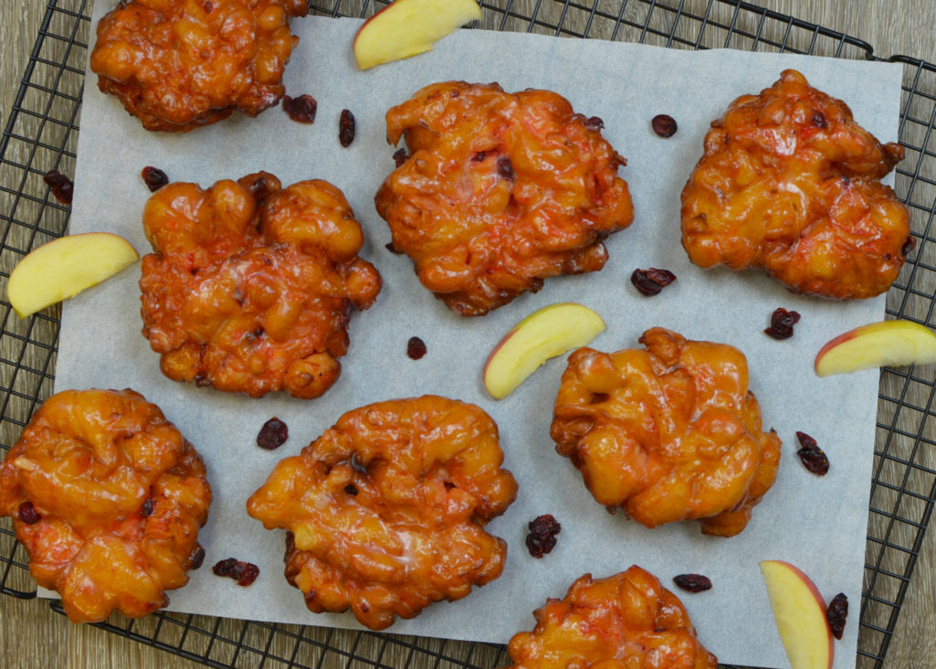 Apple Cranberry Fritters