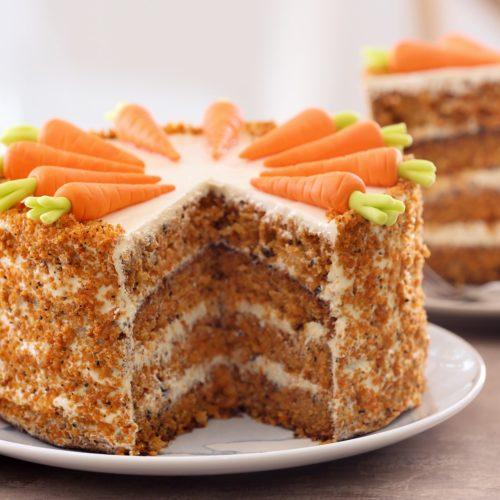 Torte de Pastel de Zanahoria
