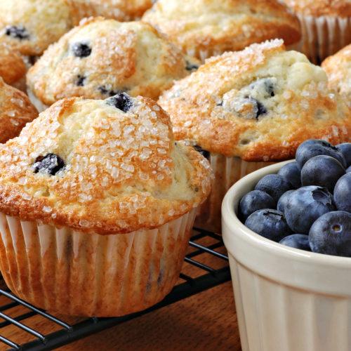 Pancitos de Arándano Azul (Sin Gluten)