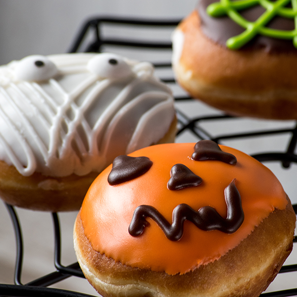 holiday recipes, Halloween donuts