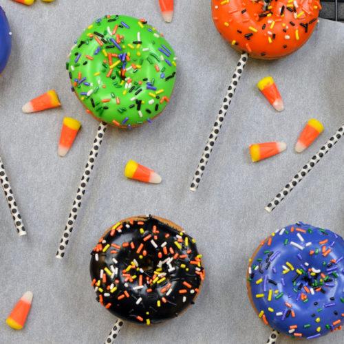 Halloween Donut Pops