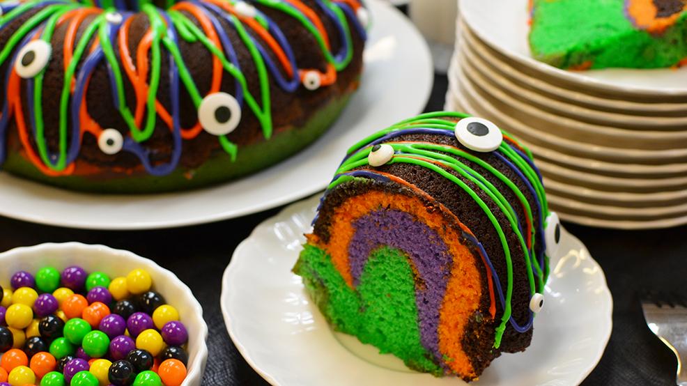Halloween Ring Cake