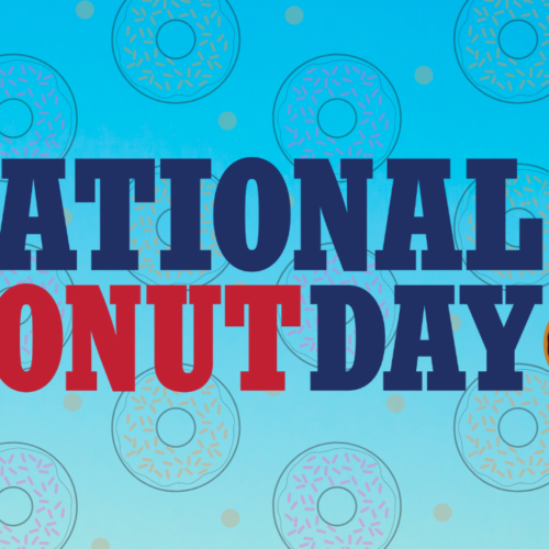 NATIONAL DONUT DAY IS JUNE 4 – YAY! Let's Get #NationalDonutDay Trending