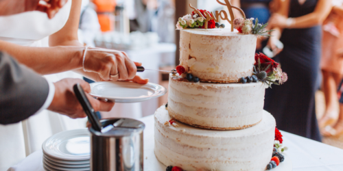 Is it even a wedding with no cake?